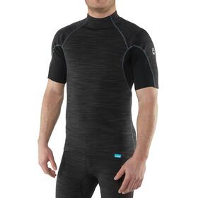 NRS HydroSkin 0.5 Short Sleeve Shirt Men Black